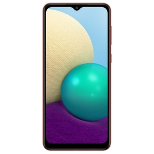 Смартфон Samsung Galaxy A02 2/32Gb Красный SM-A022GZRBSER