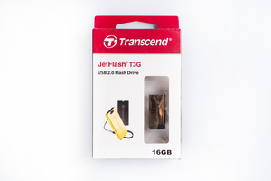 Флеш-накопитель Transcend 16GB JETFLASH T3G (Gold)