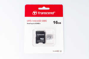 Флеш-накопитель Transcend Карта памяти Transcend 16GB UHS-I U1 microSD with Adapter
