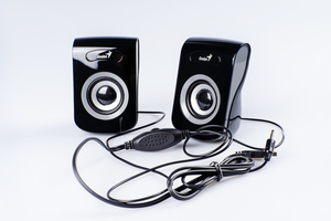 Колонки Genius SP-Q180, 2.0, 2 x 3W RMS, USB-power, Iron Grey